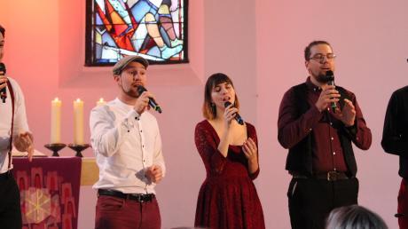 Bene, Simon, Brooklyn, Tino und Simon überzeugten mit ihrem durch und durch harmonischen Auftritt.