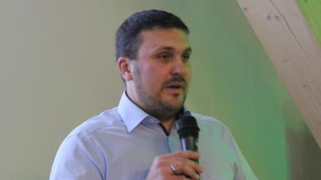 Christoph Schmidt möchte in Harburg Bürgermeister werden.