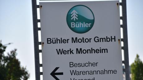 Die Firma Bühler Motor GmbH in Monheimbaut viele Arbeitsplätze ab.