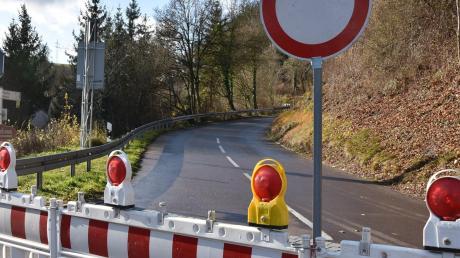 Ein Teil der Burgstraße in Harburg ist seit Montag gesperrt.