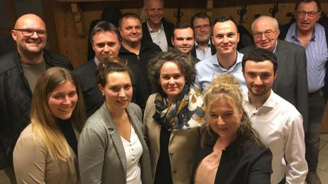 Das sind die Kandidaten der Tapfheimer CSU für den Gemeinderat.