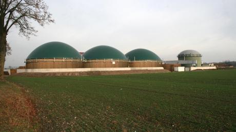 Das ist die Biogasanlage von Paul Schweihofer in Mertingen