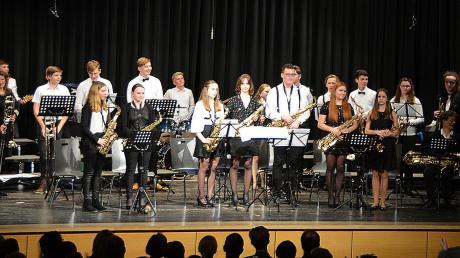 Mit dabei beim Weihnachtskonzert: die Big Band