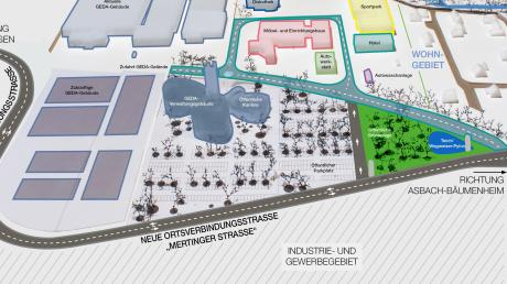 In Bäumenheim soll die Mertinger Straße verlegt werden, um der Firma Geda die gewünschte Erweiterung zu ermöglichen. Eine Bürgerinitiative will das verhindern. Allerdings ist ein erster Versuch eines Bürgerentscheids gescheitert.