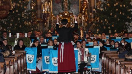 """""""Musikverein Buchdorf & Friends"""" war das Motto beim Konzert in der St.-Ulrichs-Kirche."""
