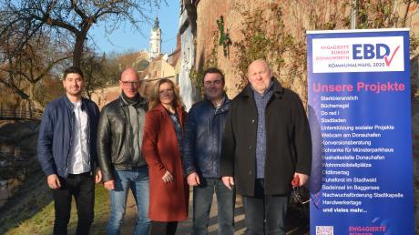 """Die """"Top Fünf"""" der EBD: (von links) Sebastian Heckl, Karl Kammer, Martina Tögel, Raimund Brechenmacher, Manfred Hofer."""