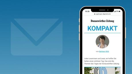 Holen Sie sich die kostenlose NewsApp der Donauwörther Zeitung und damit den Newsletter mit den Topthemen um 19 Uhr.