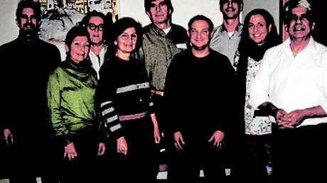 Die Kandidaten der Grünen: (von links) Nick Jacob, Monika Jacob, Monika Sautter, Kreisvorsitzende Ursula Kneißl-Eder, Werner Waimann, Ugur Günnur, Ludwig Mair, Katja Zeh und Anastasios Boulgouris.