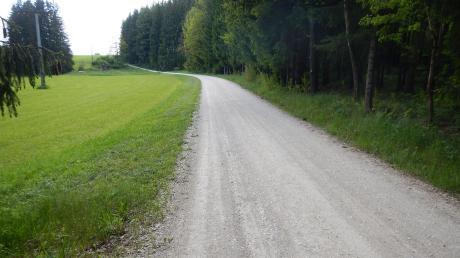 Die Landschaft nördlich des Wolferstädter Ortsteils Zwerchstraß – hier an der Straße in Richtung Möhren – ist idyllisch. In diesem Bereich wurden im vorigen Jahr innerhalb von neun Monaten acht Rehe entdeckt, die gerissen und teilweise aufgefressen worden waren.