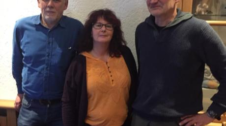 Die Spitzenkandidaten der ÖDP für die Wahl in Donauwörth: (von links) Johannes Thum, Angelika Price und Gustav Dinger.