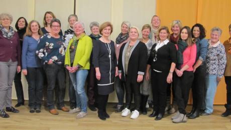 Mit diesem Team tritt die Frauenliste Buchdorf-Baierfeld bei der Kommunalwahl an.