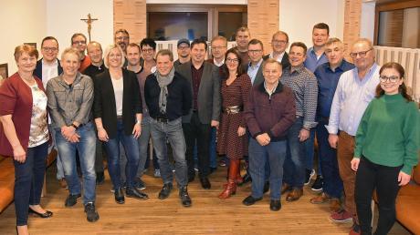 Das sind die Kandidaten der PWG/Freie Wähler Buchdorf für die Wahl im März.