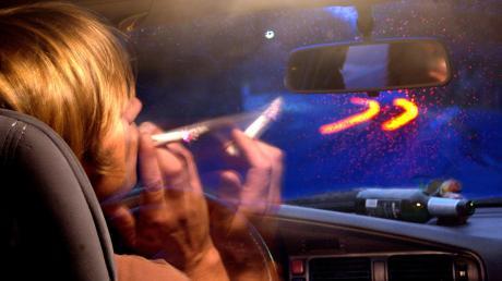 Ein Autofahrer war in Monheim unter Drogeneinfluss unterwegs.