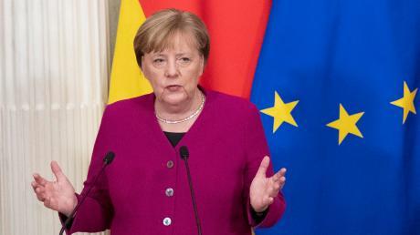 Bundeskanzlerin Angela Merkel soll per Videobotschaft in der Wörnitzhalle zu sehen sein.