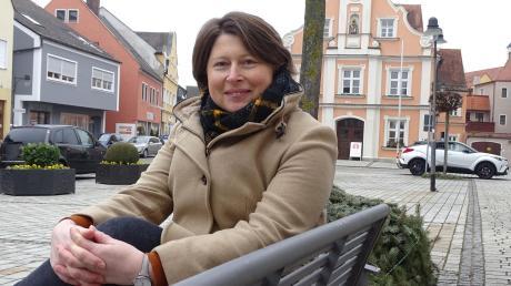 Die 46-jährige Claudia Marb will die gesamte Stadt Rain weiter voranbringen. Sie ist die Bürgermeister-Kandidatin der CSU.
