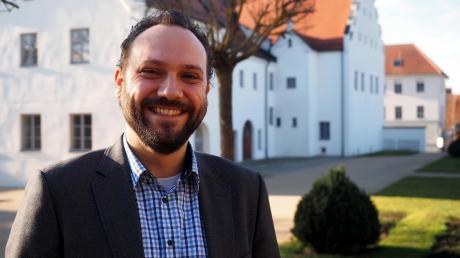 Der 33-jährige Landshuter Daniel König möchte in seiner Wahlheimat Rain vieles bewegen und für die SPD ins Rathaus einziehen.