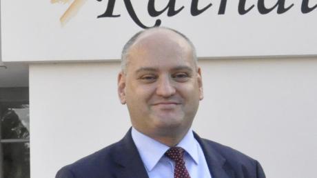 Nach einer sechsjährigen Amtszeit stellt sich Bäumenheims Bürgermeister Martin Paninka am 15. März zur Wiederwahl.