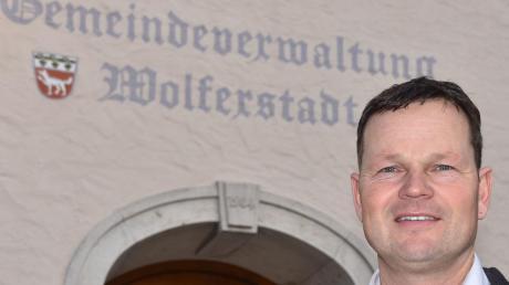 Philipp Schlapak will Bürgermeister der Gemeinde Wolferstadt bleiben. Dieses Mal hat er keinen Gegenkandidaten.