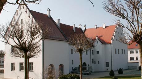 Das Schloss in Rain wurde unter den Wittelsbachern gebaut.