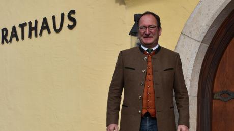 Alois Schiegg ist seit zwölf Jahren Bürgermeister in Marxheim. Er ist der einzige Kandidat für das Amt.