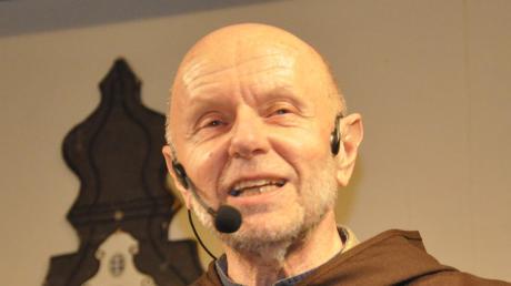 Johann Engelschall alias Bruder Hans bei seiner mehr einstündigen Fastenpredigt.