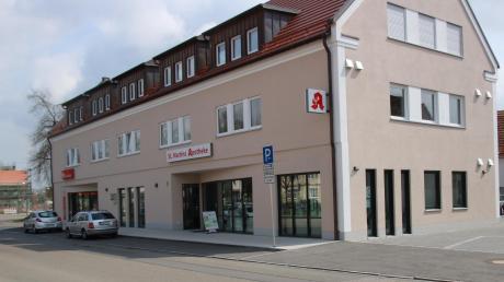 Auf dem ehemaligen elterlichen Anwesen von Bürgermeister Albert Lohner in der Fuggerstraße steht heute ein Wohn- und Geschäftshaus.