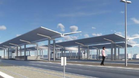 So soll es nach dem barrierefreien Ausbau auf den Bahnsteigen des Donauwörther Bahnhofes aussehen. Auch mithilfe neuer Aufzugsanlagen soll Menschen mit Beeinträchtigungen oder Eltern mit Kinderwagen geholfen werden.