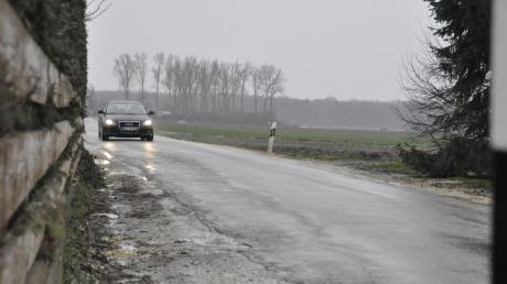 Der Zustand der Straße von Rettingen und Tapfheim lässt zu wünschen übrig. Aber wie soll sie saniert werden?
