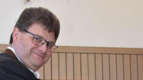 Josef Schmidberger erhielt bei der Bürgermeisterwahl in Holzheim 91,8 Prozent.
