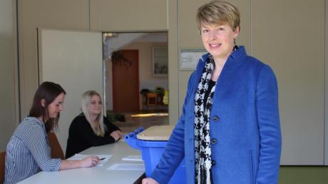 Petra Riedelsheimer wurde zur Bürgermeisterin gewählt.
