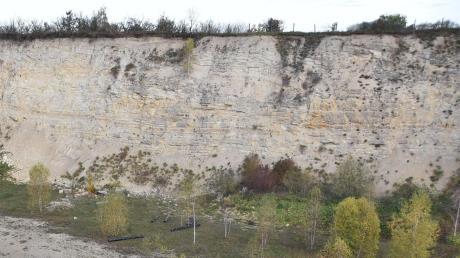 Zwei junge Männer haben sich bei Ronheim in einem Steinbruch herumgetrieben. Jetzt ermittelt die Polizei.