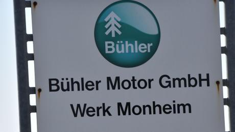 Die Mitarbeiter der Firma Bühler in Monheim befinden sich in Kurzarbeit.