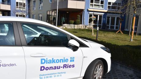 Im Pflegeheim der Diakonie in Harburg sind seit Samstag mehrere Bewohner gestorben.
