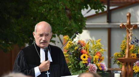 Johannes Heidecker leitet das evangelische Dekanat Donauwörth.
