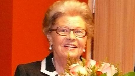 Ellen Märker ist jetzt Ehrenbürgerin der Stadt Harburg.