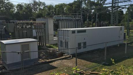 Mit einem Hybridsystem haben die Lechwerke ein innovatives Strom-Projekt gestartet.