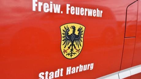 Die Feuerwehr Harburg war mit den Kollegen aus Donauwörth im Einsatz.