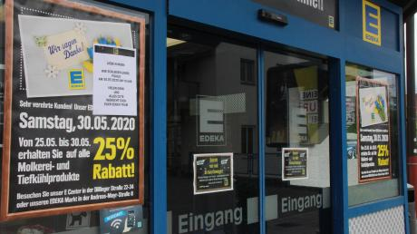Der Edeka in der Berger Vorstadt hat heute ein letztes Mal bis 14 Uhr geöffnet. Die elf Mitarbeiter werden auf andere Filialen verteilt.