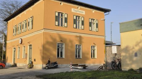 Die Ortsmitte von Tapfheim soll aufgewertet werden. Eine zentrale Rolle spielt dabei auch das Areal um den Bahnhof.