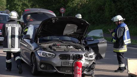 Einen Unfall mit vier Verletzten hat es am Donnerstag bei Auffahrt auf Bundesstraße 25 bei Harburg gegeben.