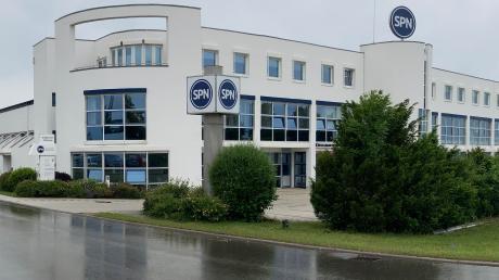 Der Hauptsitz von SPN am Nördlinger Stadtrand.