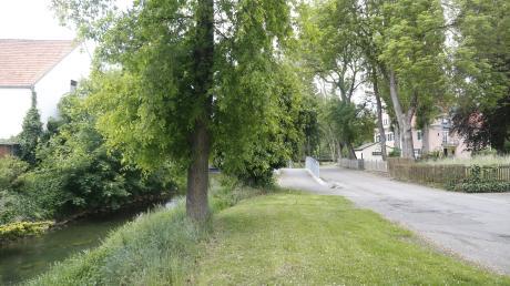Soll neu gestaltet werden: der Bereich an der Kessel in Donaumünster-Erlingshofen.