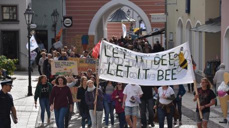 DieKlima-Demonstration in Donauwörth hatte ein gerichtliches Nachspiel.