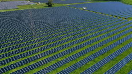 Solche Solarparkssoll es auf dem Gebiet der Stadt Harburg nicht geben. Das bekräftigte der Stadtrat.
