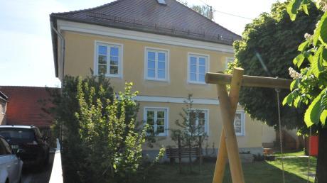 Die Umbauarbeiten im Kindergarten in Ebermergen haben begonnen.
