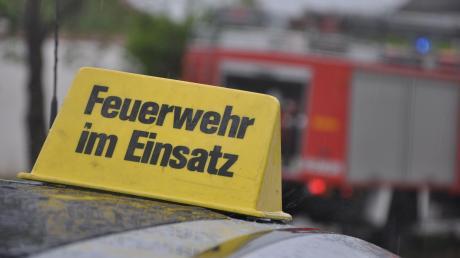 Die Feuerwehren aus Münster, Holzheim und Riedheim rückten am Samstag aus.