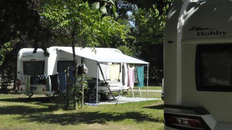 Die Campingplätze in der Region – hier Eggelstetten – sind ausgebucht. Doch die Klientel hat sich verändert. Weniger Niederländer, dafür mehr Menschen aus der Umgebung oder Deutschland.