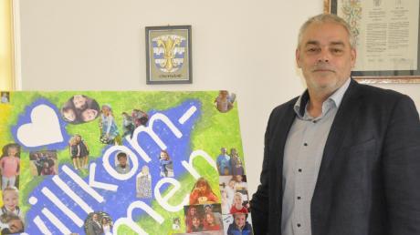 """""""Willkommen"""" hieß es für Franz Moll Anfang Mai im Oberndorfer Rathaus. Der neue Bürgermeister kann auf seine ersten rund 100 Tage zurückblicken."""