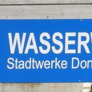Das Wasserwerk der Stadt Donauwörth.