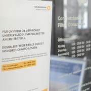 Während andere Banken längst wieder geöffnet haben, ist die Commerzbank-Filiale in Donauwörth ist nach wie vor geschlossen.